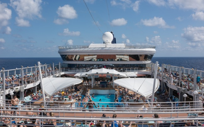 spring break cruise ship