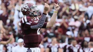 The NCAA Doesn't Want Johnny Manziel Tweeting At Potential Texas A&M Recruits On National Signing Day