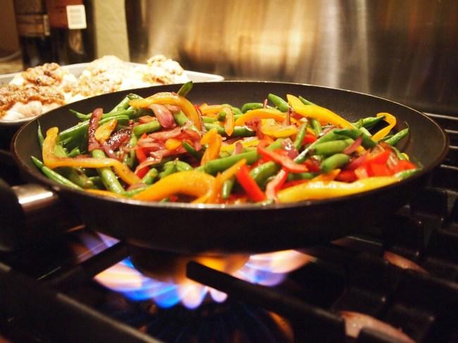Stir Fry Food