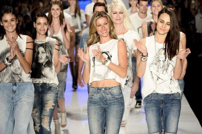 gisele Sao Paulo Fashion Week