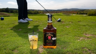 We Tee'd It Up With Jim Beam Black And Spent Some Quality Time Over Bourbon At The 19th Hole