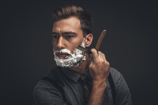 straight razor shaving