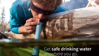 PRIME DAY DEAL: The Award-Winning LifeStraw Personal Water Filter – A MUST-HAVE For Any Hiker/Camper