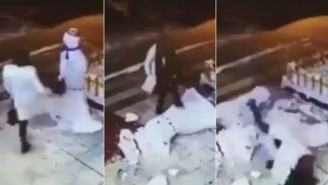 You'd Have To Be A Real Psychopath To Attack A Snowman Like This Woman Did, But Instant Karma Strikes Back