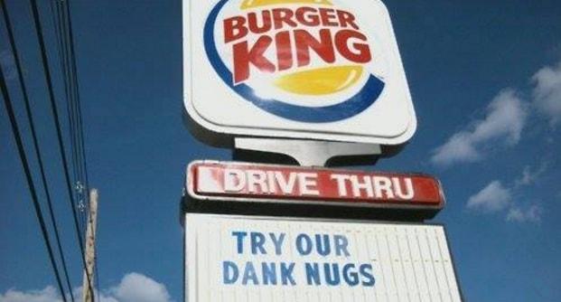 marijuana burger king weed