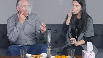 Parents And Kids Smoke Weed Together For The First Time And Causes One Dad To Puke His Head Off In A Bucket
