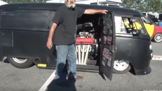 Bro Turns His 1963 VW Bus Into A Hot Rod With 586 Horsepower…Does A 12.2-Second Quarter-Mile, Is Totally Badass