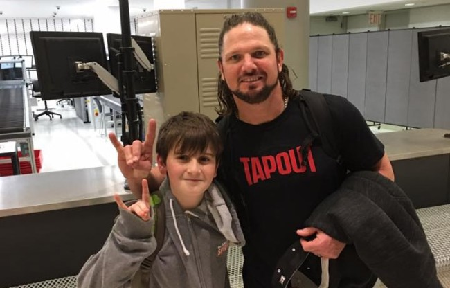 aj-styles-letter-father-young-fan