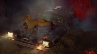 'Back To The Future' Scenes With Realistic Blood Added To Them Make It A WHOLE DIFFERENT Kind Of Movie