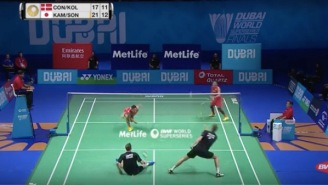If You're Going To Watch One Badminton Highlight In Your Lifetime, It Absolutely Positively Must Be This One