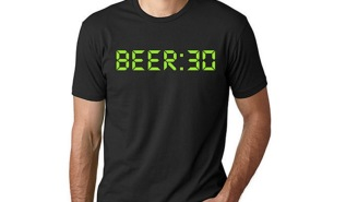 You'll ALWAYS Be Ready To Party With This 'Beer:30' T-Shirt
