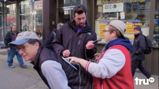 Billy Eichner And Stephen Colbert Ask 'Elitist Asshole' New Yorkers What They Think Of Donald Trump