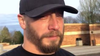 Marine Veteran's Powerful And Tearful Plea To Flag-Burners Goes Viral