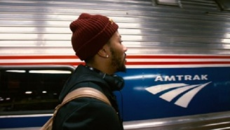 The Knicks Post And Delete Tweet Promoting Amtrak Travel Deals Featuring Derrick Rose The Day After He Went AWOL
