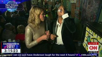 CNN News Anchor Gets HAMMERED Off Tequila Shots And Gets A Piercing On Live TV – 'Yeah, I'm Lit. Who Cares?'