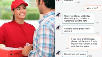 Dude Gets Way Too Clingy With Pizza Delivery Girl Over Text, Gets Called Out For Being A Cringe-Worthy Creep