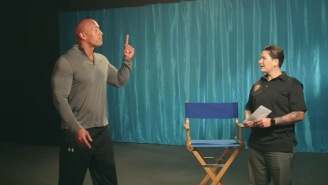 Dwayne 'The Rock' Johnson Surprises A Combat Veteran With 2018 Ford Mustang And I'm Not Crying, You're Crying