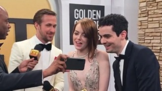 Emma Stone's Reaction To Ryan Reynolds Making Out With Her Ex Andrew Garfield Is Pretty Funny