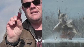 These Shotgun Slugs Made Out Of Glass Are Straight Pure Nightmare Fuel When Fired