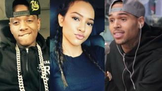 Soulja Boy Claims Chris Brown Threatened Him For Liking Instagram Pic Of Karrueche, Reminds Him About Abusing Rihanna
