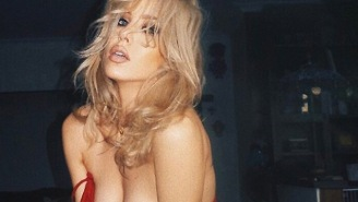 Australian Model Imogen Anthony 'Torches' Her Own Nipple On Instagram In Protest To 'Free The Nipple'