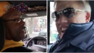 Cab Driver Claims John Elway Is The Best QB Of All-Time, Has No Idea Elway Is Sitting In The Back Seat