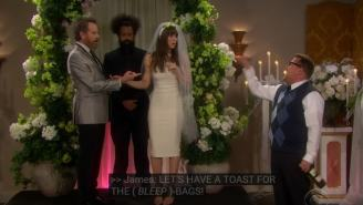 Jessica Biel Stars In A Kanye West Soap Opera And Hearing Bryan Cranston 'Rap' 'Gold Digger' Is Fantastic