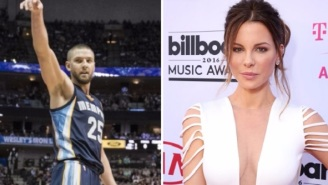 Chandler Parsons Continues His Hot Streak And Spends New Year's Eve With Kate Beckinsale