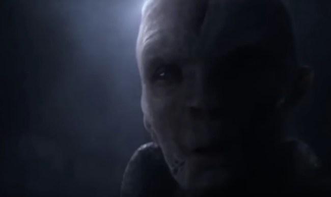 Last Jedi Snoke Theory