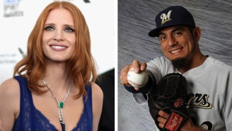 Brewers Pitcher Mansplains Birth Control To Jessica Chastain, Gets Trolled Into Oblivion On Twitter