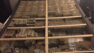 This Is What $20 Million In Cash Stuffed Into A Box Spring Looks Like