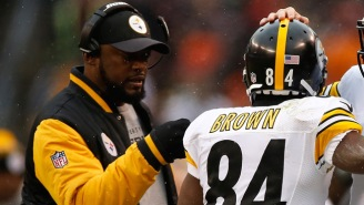 Mike Tomlin Put Antonio Brown On Blast Today For Posting That Now Infamous 'A**hole' Video On Facebook