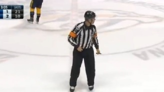 Hot Mic Catches NHL Ref Yelling 'F*ck You' At Player While Calling Penalty