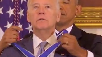President Obama Jokes About He And Biden's Bromance Before Surprising Him With Nation's Highest Civilian Honor