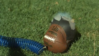 Watching An Over-Inflated Football Explode In Slow-Mo HD (28,500 FPS) Is 100x Better Than Watching Soccer