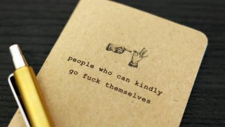 You'll Fill These 'People Who Can Kindly Go F Themselves' Notebooks Pretty Quickly This Year