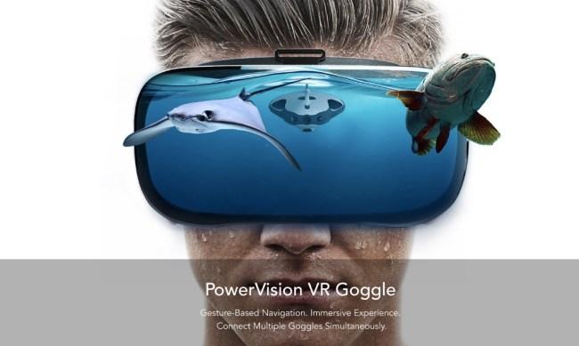 PowerRay Underwater Fishing Drone