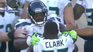 Seahawks Frank Clark Chews Out And Nearly Brawls With Rookie Teammate Jarran Reed For Getting Ejected During Game