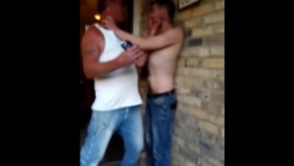 I Love This Video Of Two Drunk Rednecks Fighting Over The Last Beer
