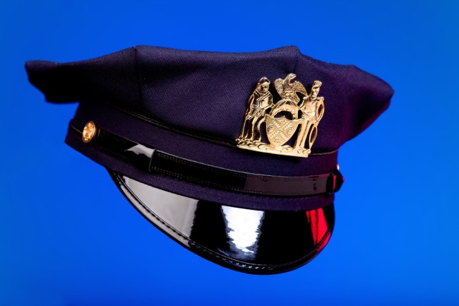 NYPD police hat