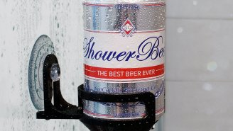 Keep Your Shower Beer From Getting Watered Down With This Handy SipCaddy