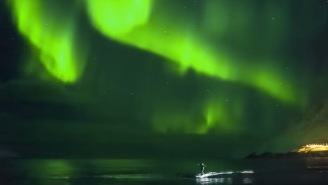 Bros Shredding Frigid Waves Under The Northern Lights In Iceland Is The Craziest Surfing Footage You'll Ever See