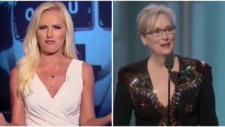 Hot Take Tomi Lahren Burns 'Overpaid Snowflake' Meryl Streep For Her Golden Globes Speech Calling Out Trump