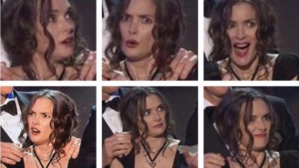 Winona Ryder's Multitude Of Crazy AF Facial Expressions Were The Absolute Highlight Of The SAG Awards