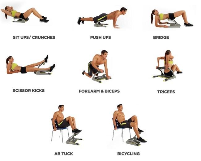 workouts wonder core