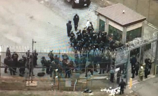 Vaughn Correctional Center Prison Riot