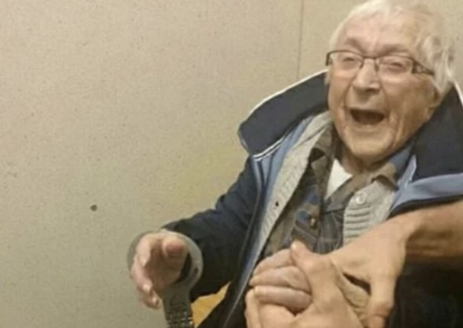 99-year-old bucket list arrested the netherlands