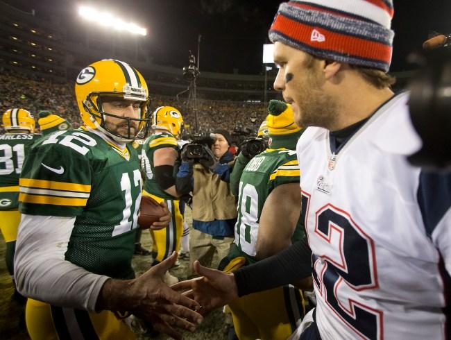 New England Patriots Vs. Green Bay Packers At Lambeau Field