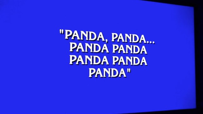 Alex Trebek Rap On Jeopardy