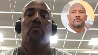 Check Out This Cool Story About The Guy Who Gets To Be The Stand-In For Dwayne 'The Rock' Johnson